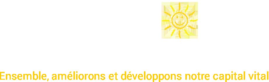 201128V-logo VOM blanc+soleil et Ligne orange